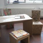 Bauhaus Universität Weimar summaery2012 Pappmöbel