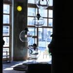 Between Time A Curated Showcase of Fine Furnishings and Art in Berlin Azucena Luigi Caccia Dominioni Boccia and Grappolo lamps
