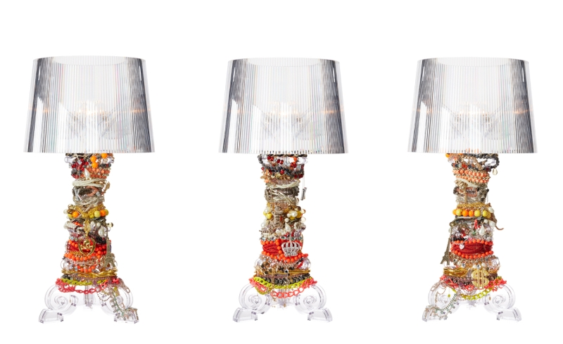 Bourgie by Ferruccio Laviani Kartell re-imagined by Philippe Starck
