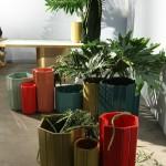 Design Basel 2013: Carwan Gallery, Landscape Series von India Mahdavi. Die Matt Vases