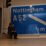Design Museum London Collection Extraordinary Stories About Ordinary Things A1 Motorway Sign
