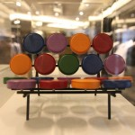 Dimensions of Design: 20 Years of Vitra Design Museum Miniatures bei Hugo Boss Mailand George Nelson Marshmallow Sofa