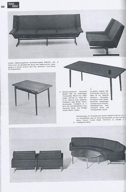 Möbelhersteller Köln imm cologne 2012 und 1962 smow