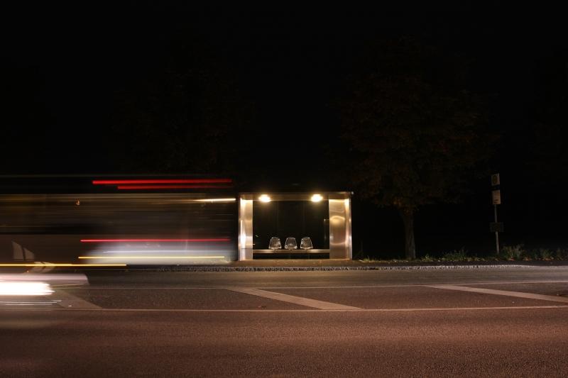Jasper Morrison Bus Shelter Vitra Campus