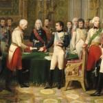 Napoleon in the Kaisersaal Erfurt in 1808