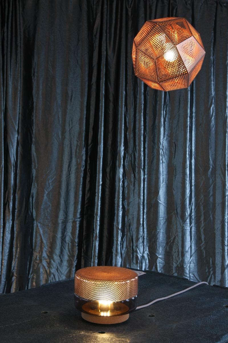 Passagen Cologne 2014 Alle Metalle All Metal Tom Dixon Etch Lamp shade Light drop e27