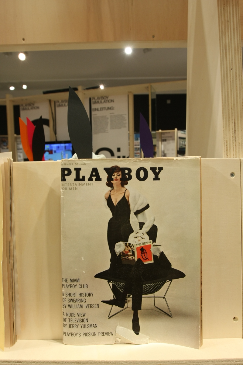 Playboy Architecture 1953 1979 Deutsches Architekturmuseum Frankfurt am Main September 1961bertoia diamond chair
