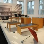 The Kramer Principle Design for Variable Use Museum Angewandte Kunst Frankfurt am Main Furniture system for Frankfurt University Rainbelle paper umbrella parasol