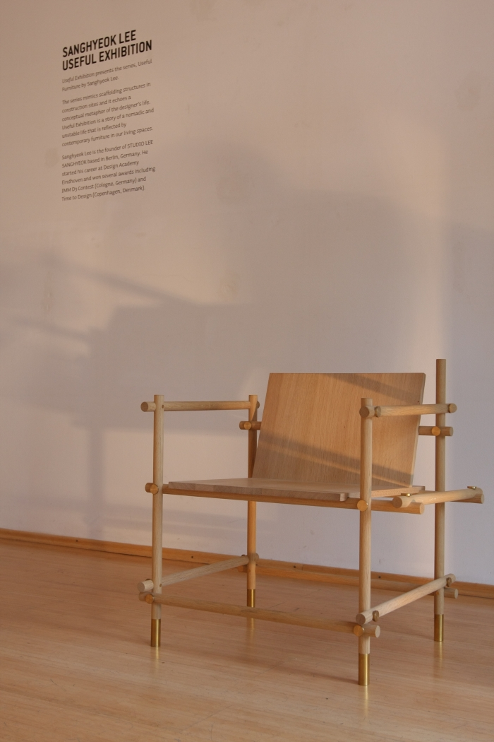 Useful Furniture by Sanghyeok Lee at the DMY Design Gallery Berlin