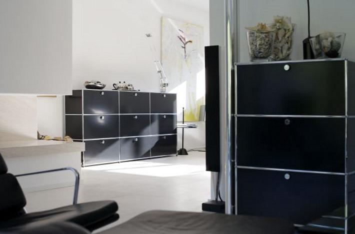 usm haller regale individuell designerm bel von. Black Bedroom Furniture Sets. Home Design Ideas
