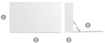 m ller m belwerkst tten flatbox wandsekret r von michael. Black Bedroom Furniture Sets. Home Design Ideas