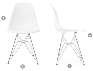 Vitra eames plastic side chair dsw untergestell ahorn for Vitra nachbau england