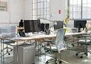 Büroräume der Werbeagentur Markenrat auf dem Gelände der Baumwollspinnerei