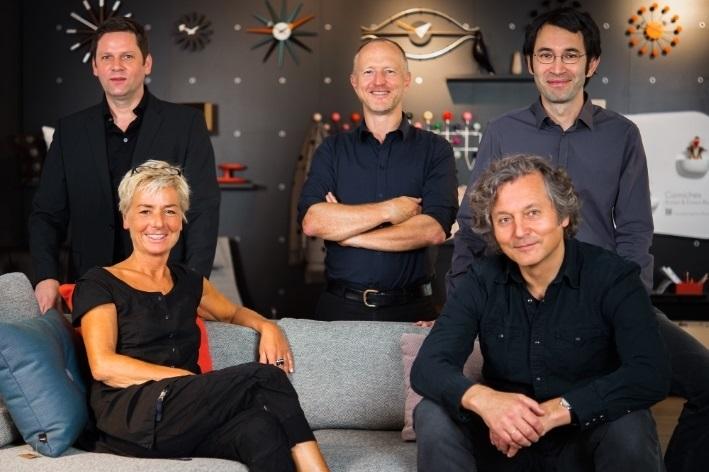 Das Team des Stuttgarter smow Showrooms