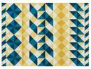 Teppich Mosaïek, 200 x 300 cm, Yellow