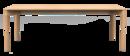 Wedekind Tisch, 200 x 92 cm, Eiche gewachst