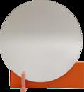 Hoffmann Standspiegel, Reinorange/aprikosa
