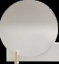 Hoffmann Standspiegel, Weiß / Esche gewachst