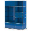 USM Haller Garderobenschrank Typ I, Enzianblau RAL 5010