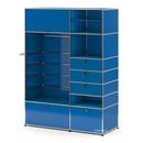 USM Haller Garderobenschrank Typ II, Enzianblau RAL 5010