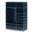 USM Haller Garderobenschrank Typ II, Stahlblau RAL 5011