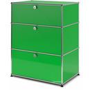 USM Haller Kommode mit 3 Schubladen, H 95 + 4 x B 75 x T 50 cm, USM grün