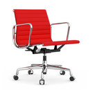 Aluminium Chair EA 117, Verchromt, Hopsak, Rot / poppy red