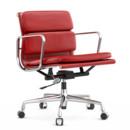 Soft Pad Chair EA 217, Verchromt, Rot