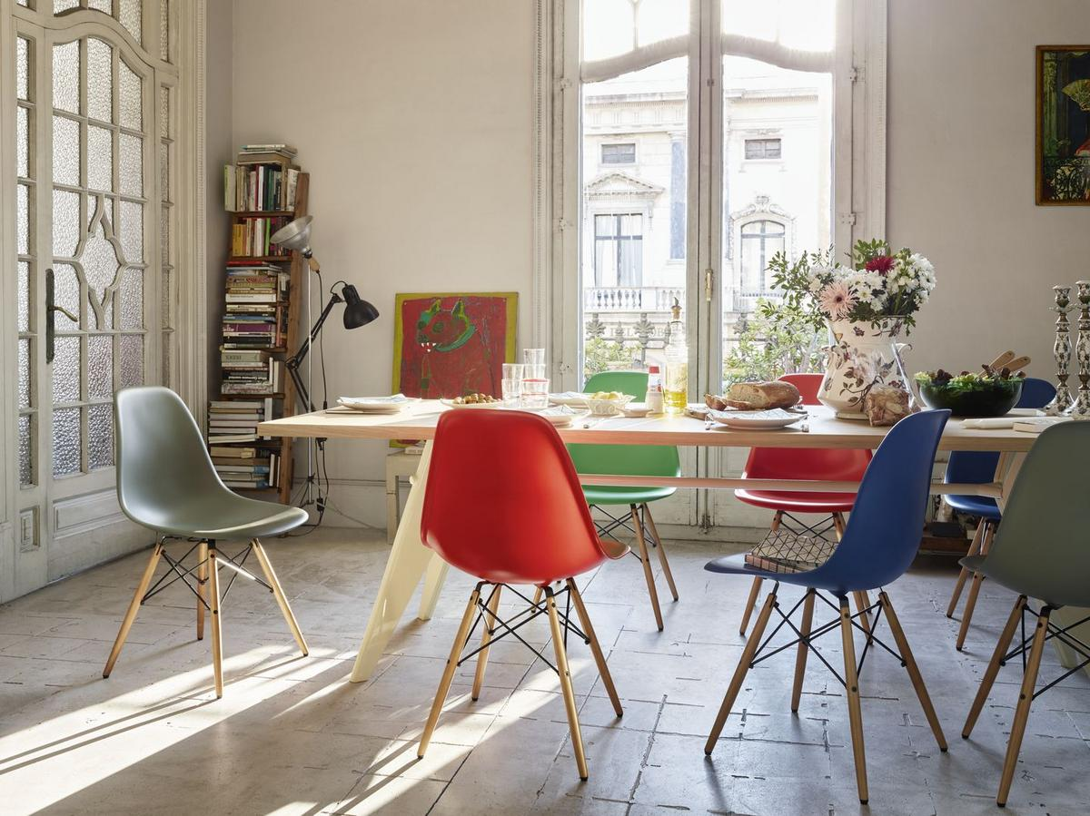 Eames Plastic Side Chair Dsr eames dsr dsw dsx dss pscc by vitra vitra chairs smow com