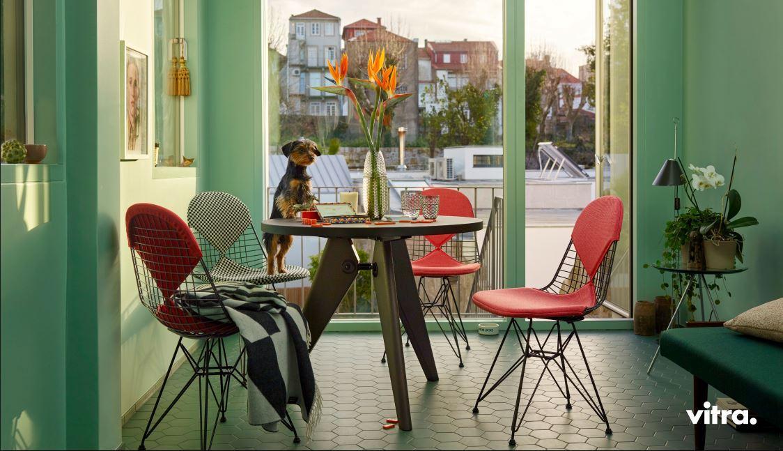 vitra dining campaign 2017 designer furniture by. Black Bedroom Furniture Sets. Home Design Ideas