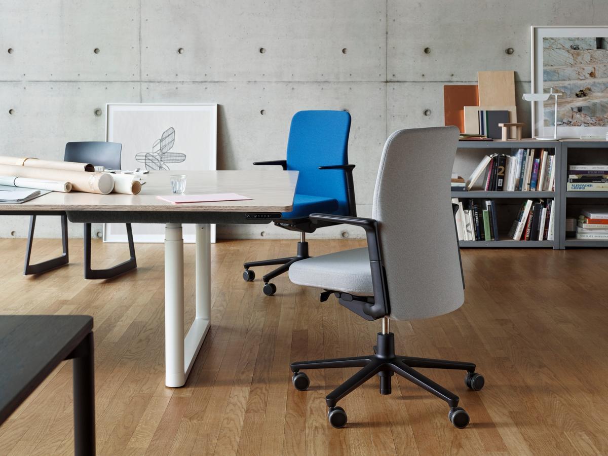 Bürostuhl designklassiker eames  Vitra Bürostühle - Vitra Designermöbel von smow.de