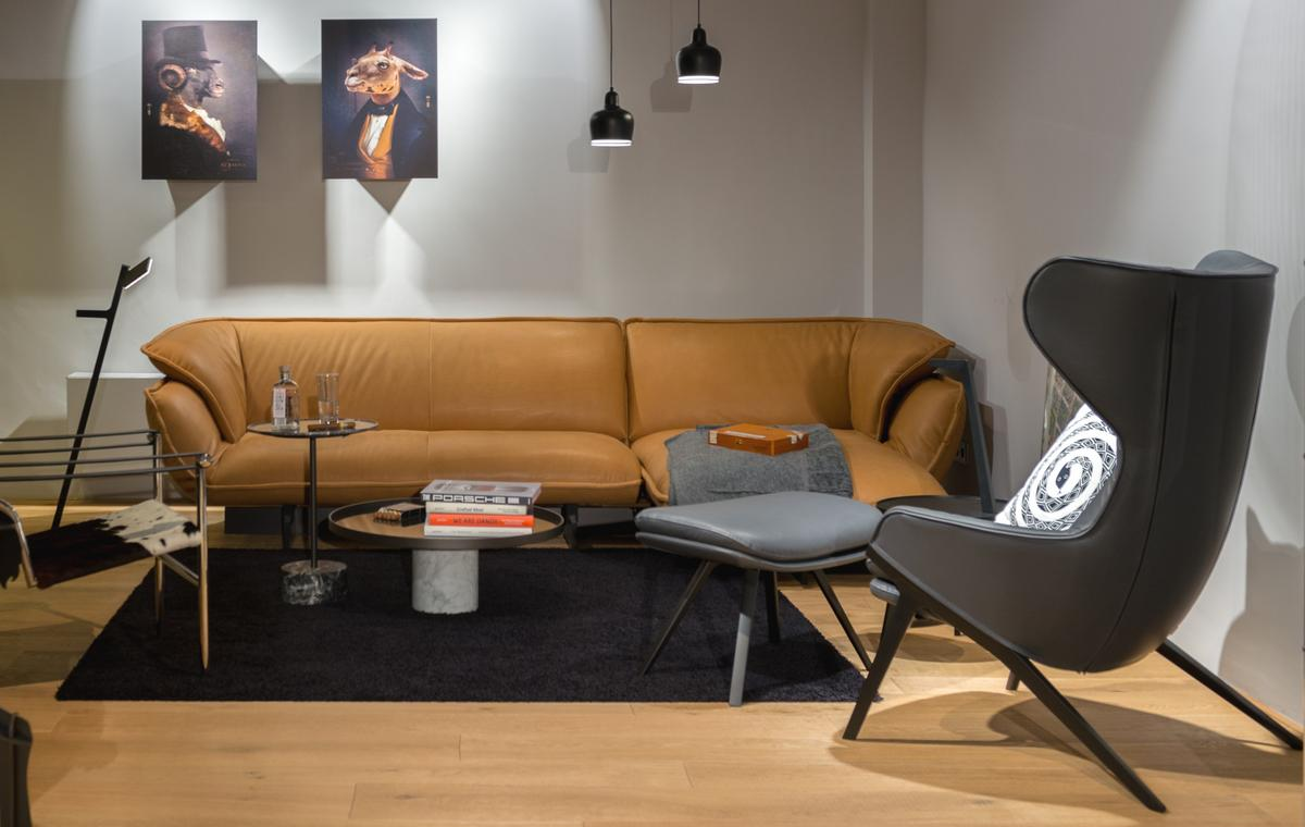 Cassina Furniture As Seen In Our Showroom In Düsseldorf