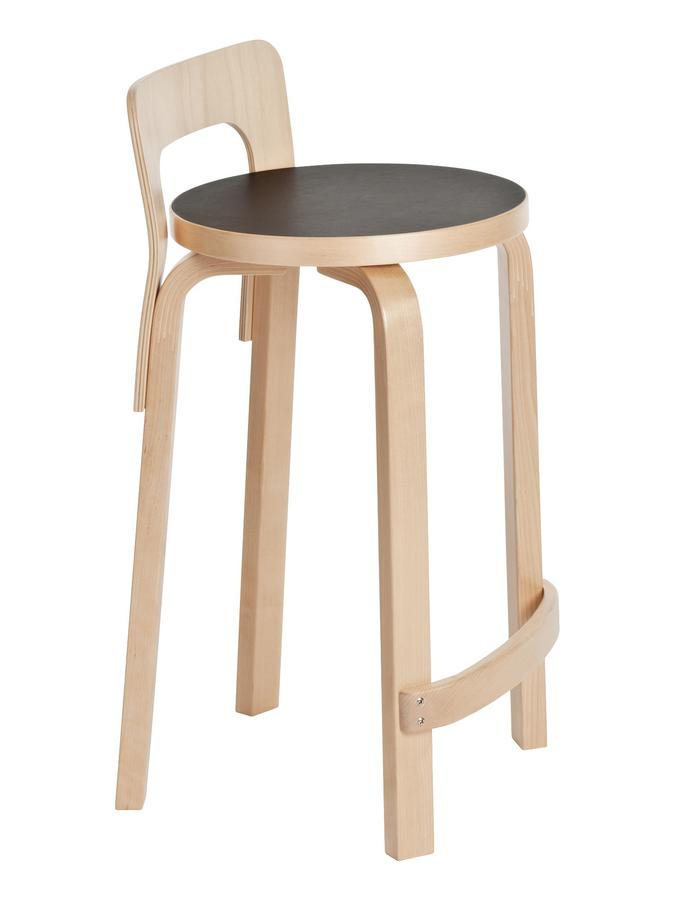 Artek Küchenstuhl K65 von Alvar Aalto, 1935 - Designermöbel von smow.de
