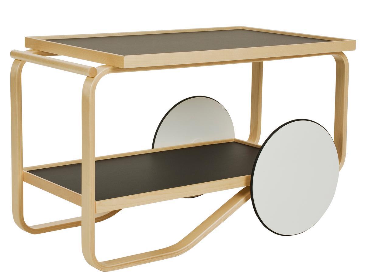 artek servierwagen 901 von alvar aalto 1936 designerm bel von. Black Bedroom Furniture Sets. Home Design Ideas