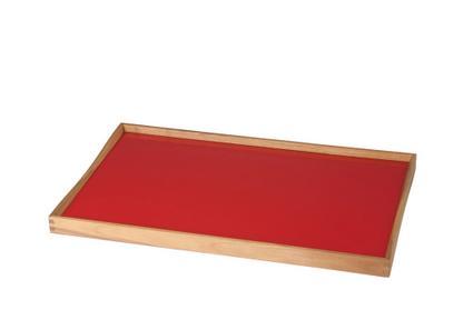 Turning Tray M (30 x 48 cm) Schwarz/Rot