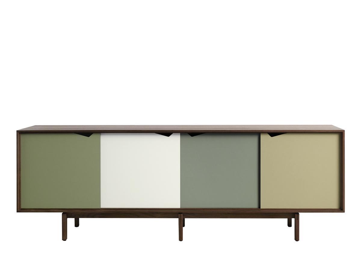 Sideboard Grau andersen s1 sideboard walnuss geölt grün grau bykato 2011