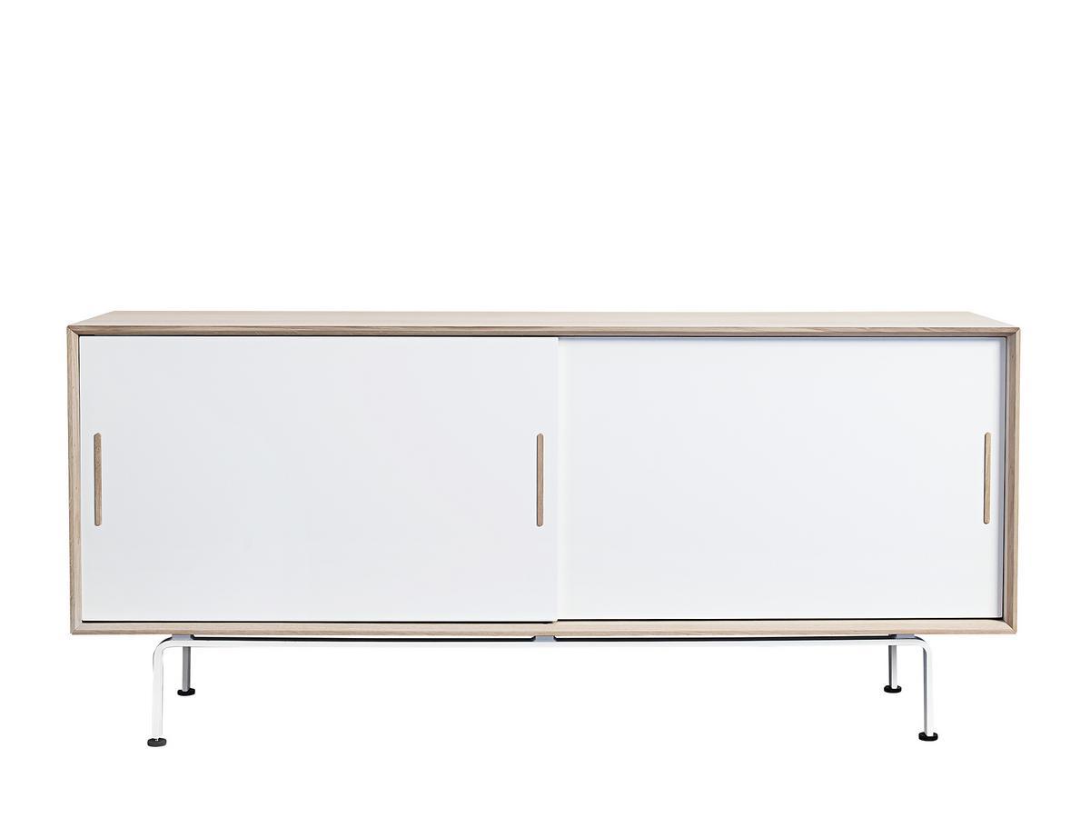 Andersen S4 Sideboard Turen Und Fusse Weiss Von Ditlev Karsten