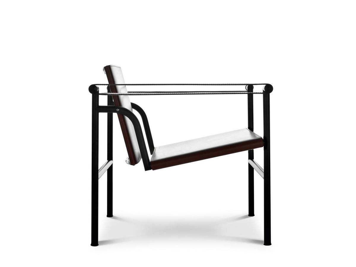 cassina lc1 sessel von le corbusier pierre jeanneret charlotte perriand 1928 designerm bel. Black Bedroom Furniture Sets. Home Design Ideas