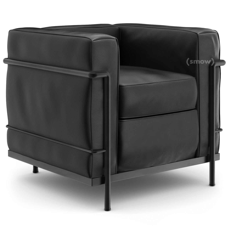 cassina lc2 sessel von le corbusier pierre jeanneret. Black Bedroom Furniture Sets. Home Design Ideas