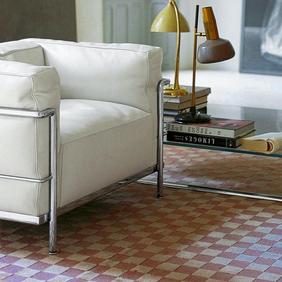 cassina lc3 sessel von le corbusier pierre jeanneret charlotte perriand 1928 designerm bel. Black Bedroom Furniture Sets. Home Design Ideas