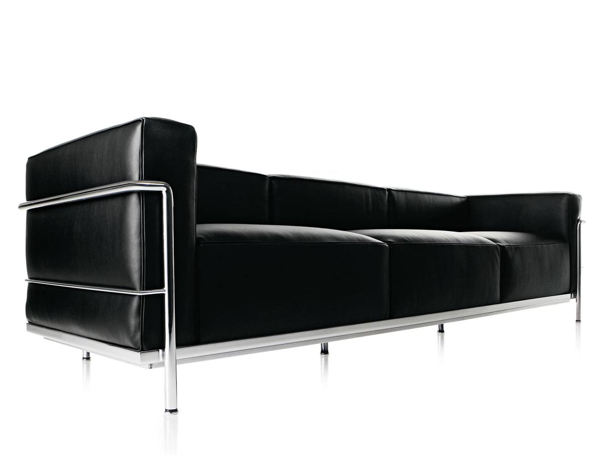 Cassina Lc3 Sofa Von Le Corbusier Pierre Jeanneret Charlotte