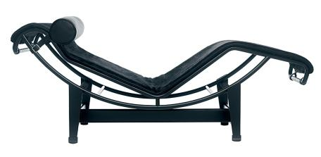 Cassina lc4 chaise longue by le corbusier pierre for Chaise longue le corbusier original