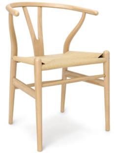 CH24 Wishbone Chair Esche geölt|Geflecht natur