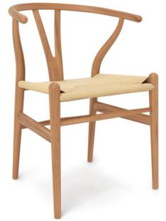 CH24 Wishbone Chair Ulme geölt - Limited Edition|Geflecht natur
