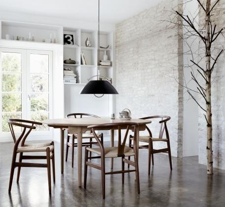 carl hansen s n ch24 wishbone chair von hans j wegner 1950 designerm bel von. Black Bedroom Furniture Sets. Home Design Ideas