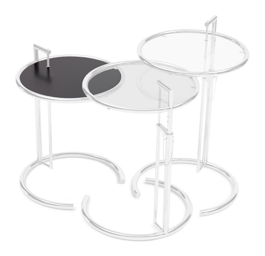 adjustable table e 1027 ersatzplatte metallplatte schwarz