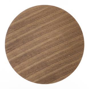 Ferm Living Tischplatte Large (Ø 60 cm)|Eiche geräuchert