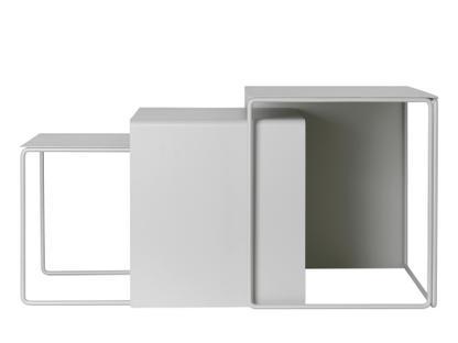 Cluster Tables Hellgrau