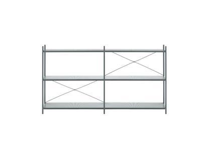 Punctual Sideboard Medium (H 100 x B 186,2 x T 42 cm)|Dunkelblau