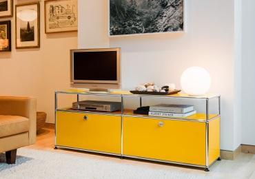 usm haller regale & boards - designermöbel von smow.de, Wohnzimmer